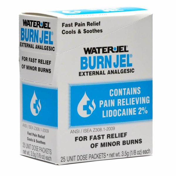 WATER JEL, BURN JEL SINGLE DOSE 3.5GM PACKET, 25/BOX