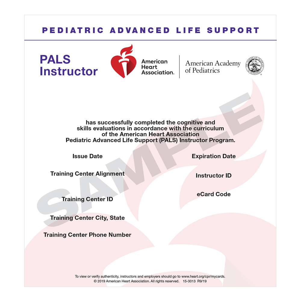 https rescueaed com product pals instructor e card